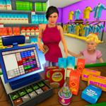 supermarché shopping jeux 3D на пк