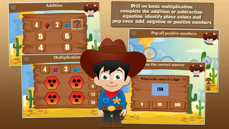 Cowboy Kid Games for 2nd Grade