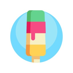 Ice Cream Stickers.