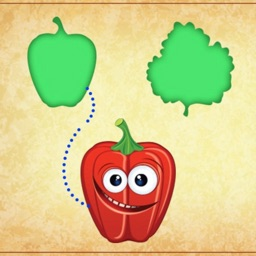 Learn Food Puzzle Solving Game