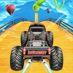 Monster Truck Stunt Game
