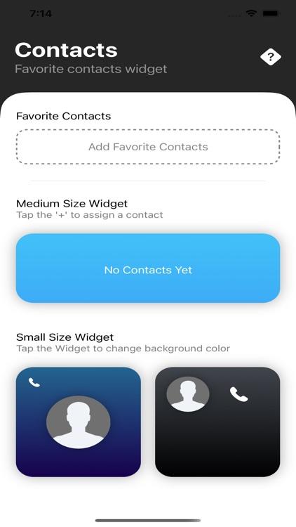 Contact Widget Pro
