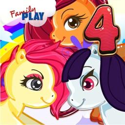 Fourth Grade Pony School Games
