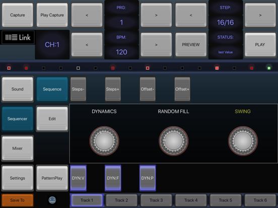 6X806 Noise Drum Machine EDM-D