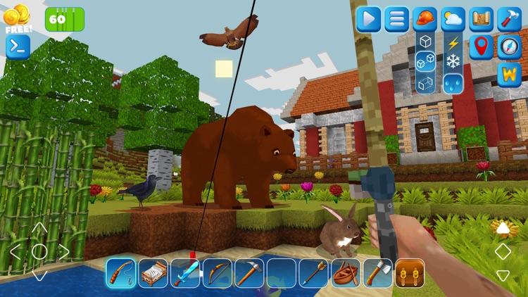PrimalСraft 3D: Block Building