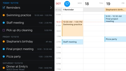 Fantastical 2 for iPhone Screenshot on iOS