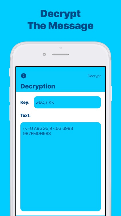 Cipher: Encrypt & Decrypt Text by Adam Foot