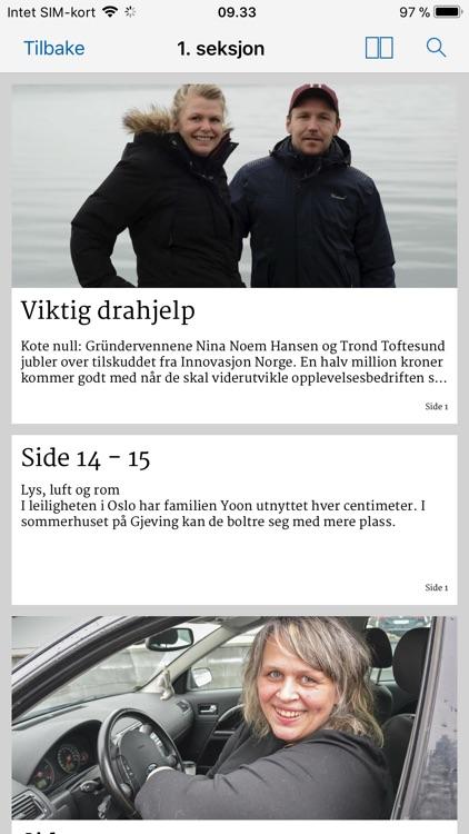 Tvedestrandsposten screenshot-3