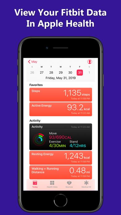 Fitbit to Apple Health Syncのおすすめ画像4