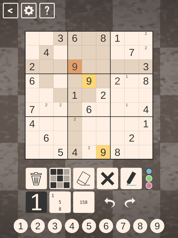 Chess Sudoku screenshot 4