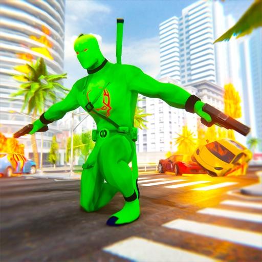 Superhero Gangster Revenge 3D