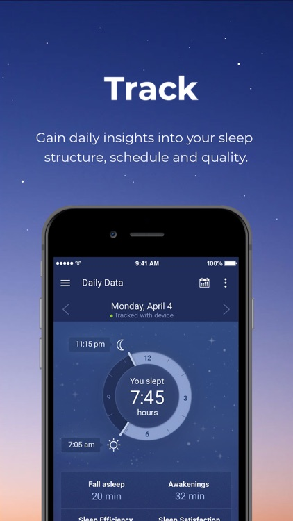 Sleeprate: Improve your sleep