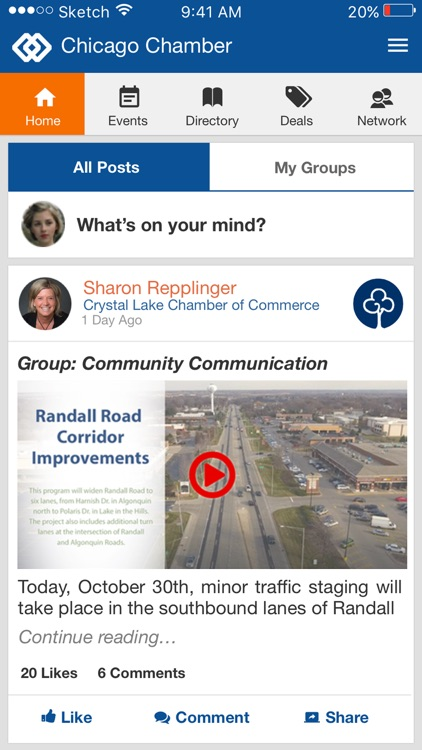ChamberLynk Mobile App