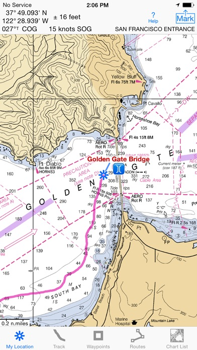 Screenshot for i Sail GPS : NOAA USA Charts in United States App Store