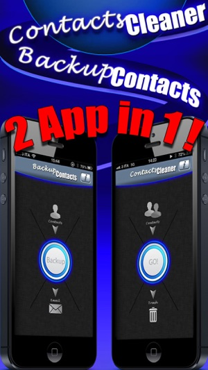 Backup Contacts Pro. Screenshot
