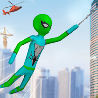 Usman Shahid - Stickman Spider Rope Hero Game artwork