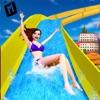 水 滑り台 パーク 冒険 3D - iPhoneアプリ