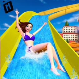 Water Slide Park Adventure 3D