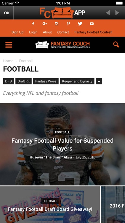 Fantasy Couch screenshot-3