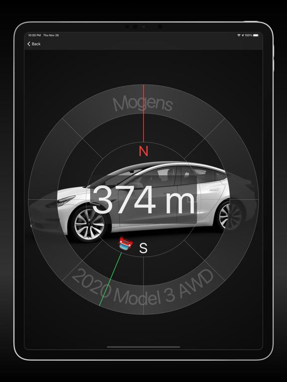 Watch app for Tesla