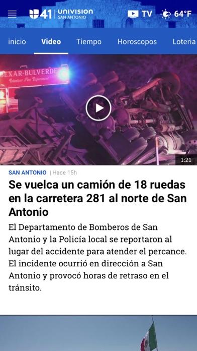 Univision 41 San Antonio screenshot 4
