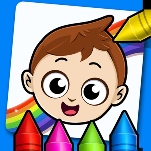 Baby Town : Kids Coloring Book