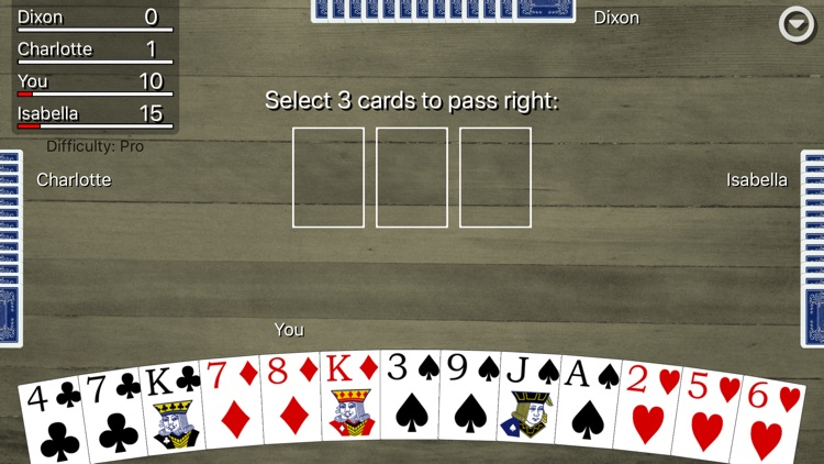 Hearts Card Classic screenshot-3