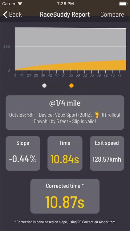 Race Buddy - How fast are you? screenshot-4