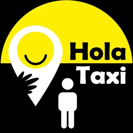 Hola Taxi Icon