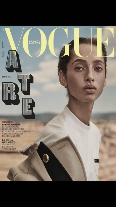 Screenshot for Revista Vogue España in Peru App Store