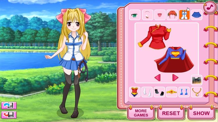 Dress Up Games, Cosplay Girls screenshot-4