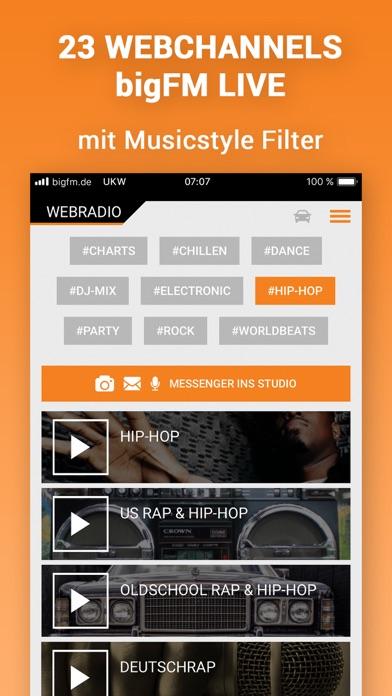messages.download bigFM Radio software