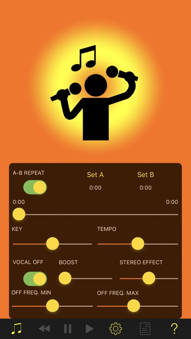 Screenshot for KARAOKE GYM in Italy App Store
