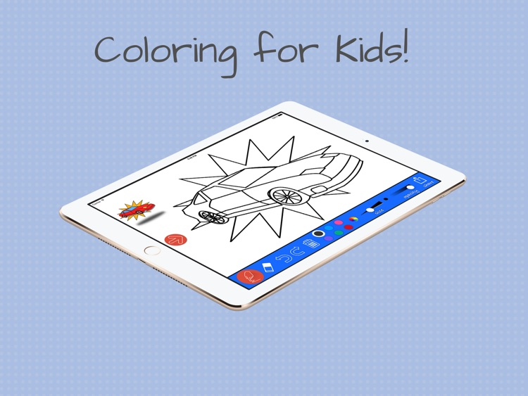 Coloring with cars and trucks