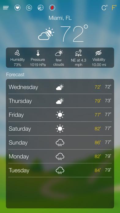 World Weather Forecastのおすすめ画像2