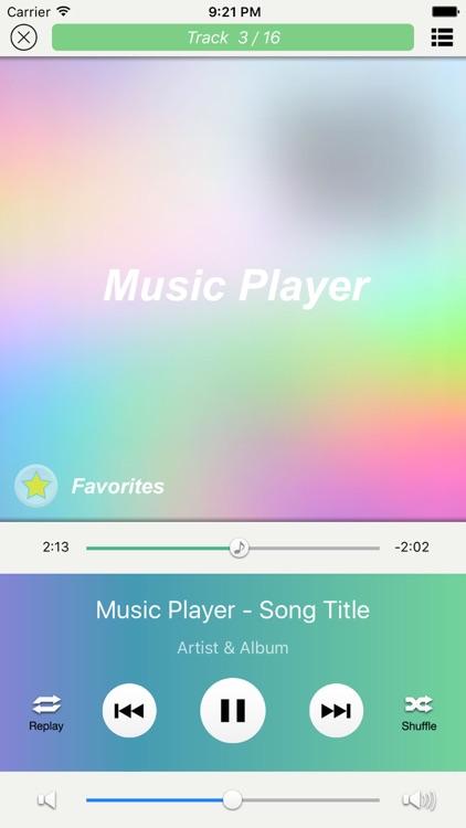 iMvPlayer Music & Video screenshot-3