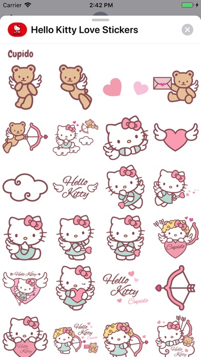 Screenshot for Hello Kitty Love Stickers in Viet Nam App Store