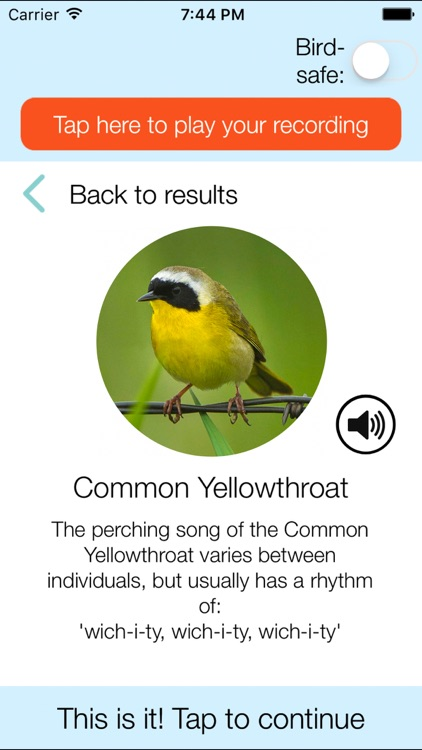 ChirpOMatic USA - Bird Song ID