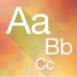 ABC English alphabet learning