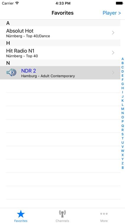German Radio screenshot-3