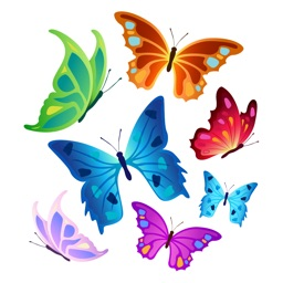 Butterfly Stickers Pack