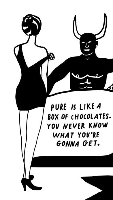 PURE Hookup - anonymous dating Screenshot