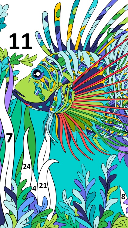 Color by Number, Coloring Book screenshot-4