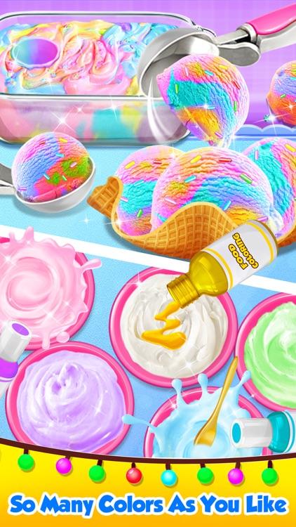 Carnival Unicorn Ice Cream