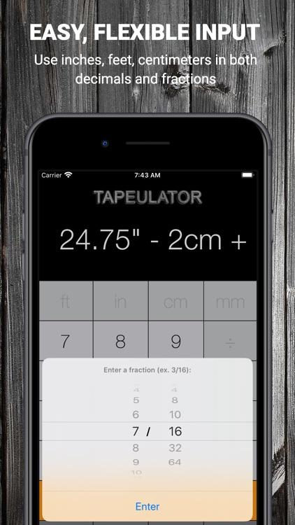 Tape Measure Calculator Pro screenshot-3