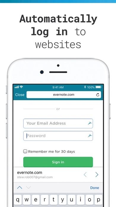 Dashlane Password Manager Screenshot