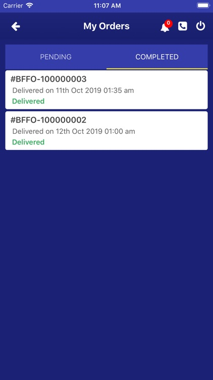 BFF -  Delivery manager screenshot-3