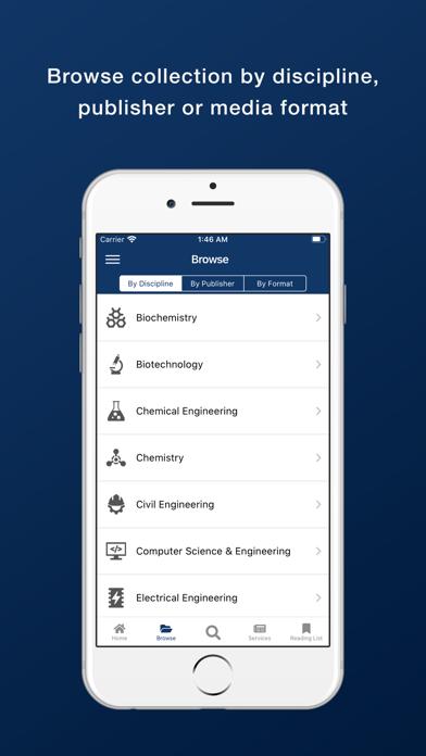 Bennett University Library screenshot 3