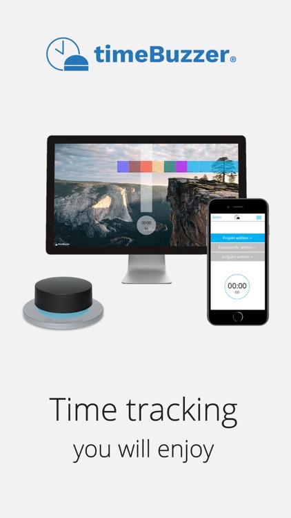 timeBuzzer - time tracking