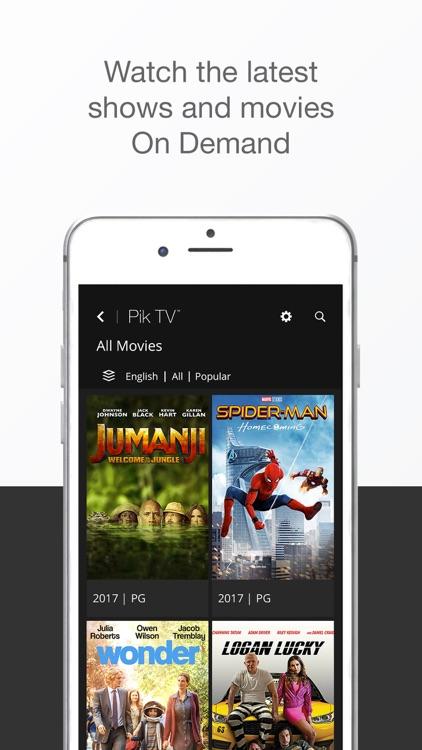 Pik TV™ screenshot-3